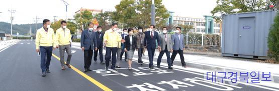 영천시)포은고등학교 진입도로 준공 (1).JPG